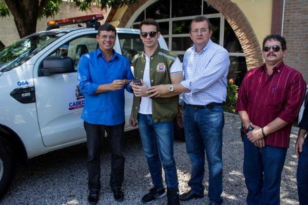 Vitor Hugo compra drone e equipamentos para coibir a poluição sonora em Cabedelo