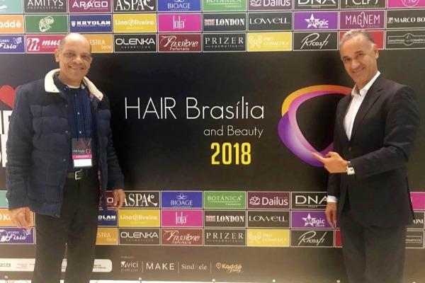 Deputado Vitor Paulo participa do 9ª edição do Hair Brasília 2018