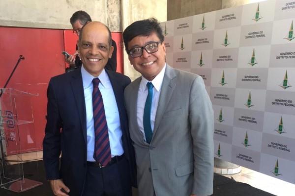 Vitor Paulo prestigia lançamento do programa SOS Saúde no DF