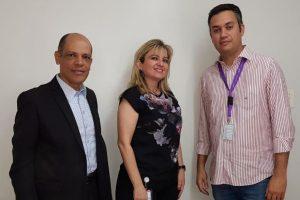 Vitor Paulo visita Hospital Materno Infantil de Brasília