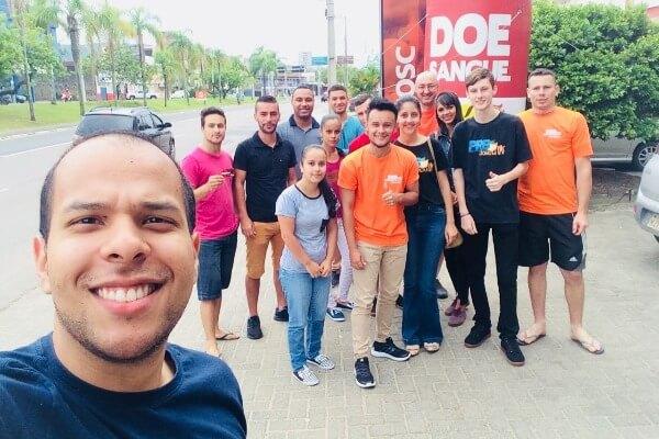 PRB Juventude promove ação de doação de sangue no Hemosc de Criciúma (SC)