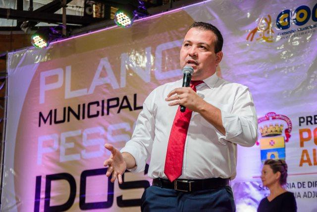 Waldir Canal participa do lançamento do Plano de Políticas Públicas para Idosos