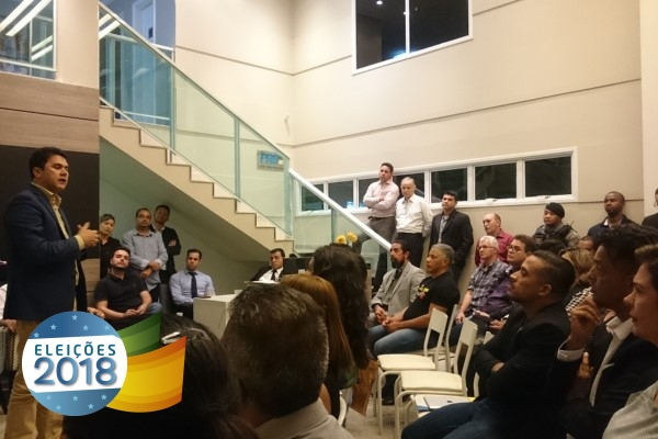 Wanderley Tavares debate ações do PRB DF com pré-candidatos