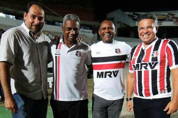Republicanos visitam Santa Cruz Futebol Clube no Recife