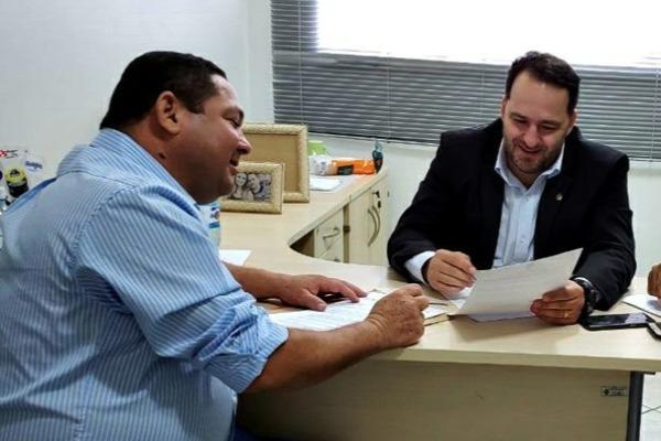 Wilson Tim assegura emendas parlamentar para Cacoal (RO)