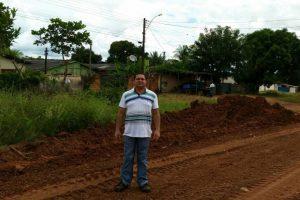 Vereador Wilson Tim garante serviços para avenida em Cacoal (RO)