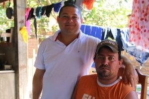 Wilson Tim pede serviços de infraestrutura para bairro em Cacoal