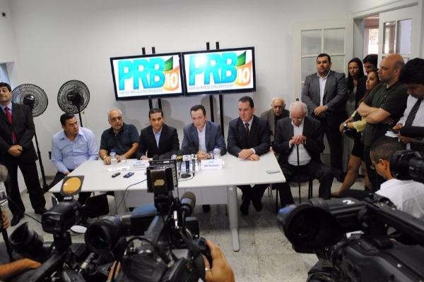 PRB anuncia que ficará neutro no segundo turno em SP