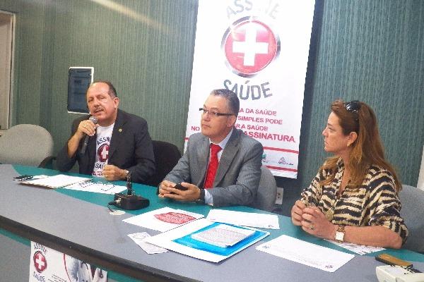 """Câmara Municipal de Salvador apoia projeto popular """"Assine+Saúde"""""""