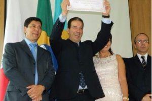 Ruy Muniz é diplomado prefeito de fato e de direito