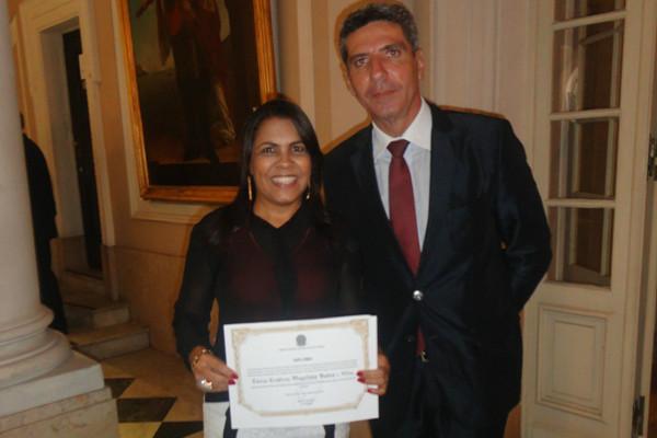 Tânia Bastos é diplomada vereadora no Rio de Janeiro