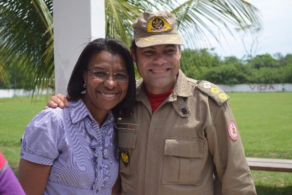 Visita a Bombeiros em Nova Iguaçu