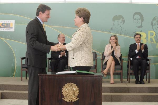 Dilma e Crivella lançam Plano Safra da Pesca