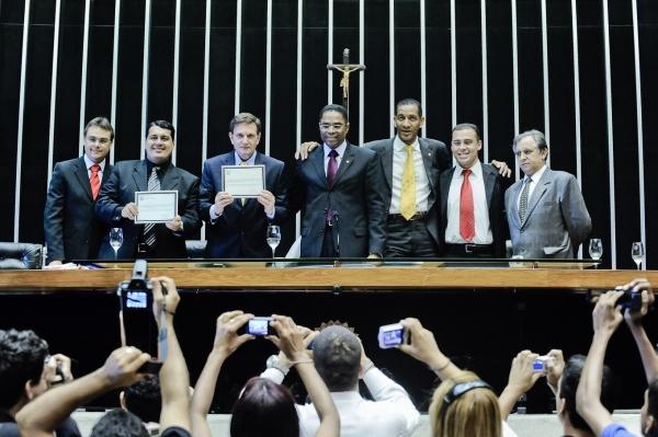 Força Jovem Brasil recebe homenagem em Brasília