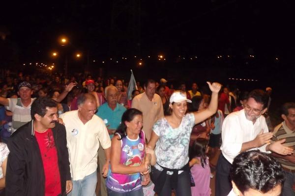 Caravana de Sarina Faro sacode a cidade sergipana de Malhador