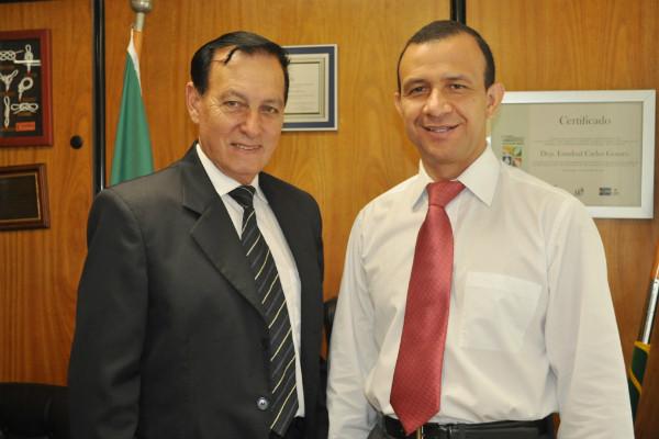 Carlos Gomes convida Nicanor para concorrer a deputado estadual