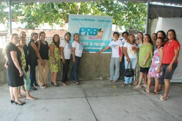 PRB Mulher capixaba traça metas para 2013