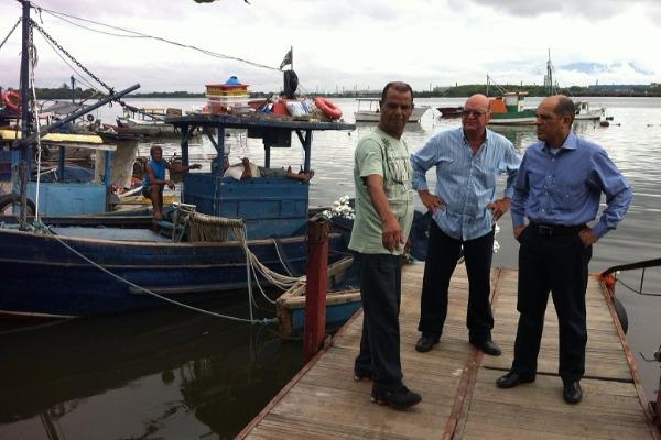 Visita a Colônia de Pescadores