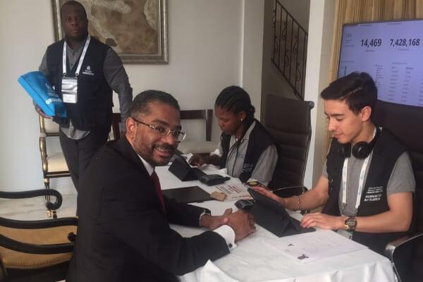 Márcio Marinho participa da Missão de Observação às Eleições de Angola
