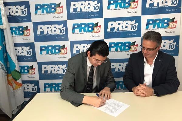Mateus Braga é empossado coordenador do PRB Juventude Minas Gerais