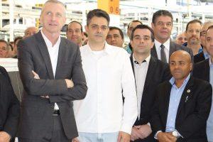 Nunes Coelho participa da comemoração de 8 milhões de carros Gol fabricados no País