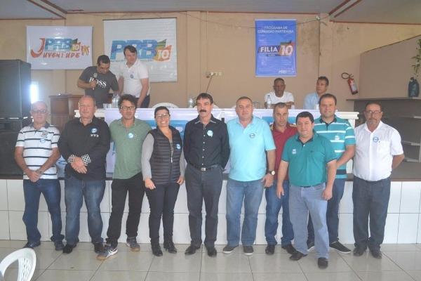 PRB empossa nova diretoria Executiva em Içara (SC)