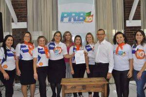 PRB Mulher promove ação sobre o câncer de mama em São Leopoldo (RS)