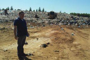 Vereador Wilson Tim fiscaliza instalações de aterro sanitário em Cacoal (RO)