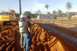 Vereador Wagner Enoque fiscaliza e cobra andamento de obras em Araguaína (TO)