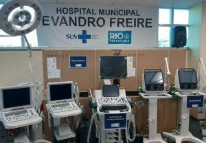 Tânia Bastos participa da entrega de equipamentos de saúde no Rio