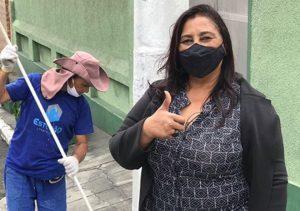 Vereadora Leide intensifica fiscalização nas obras da prefeitura em Caxias (RJ)