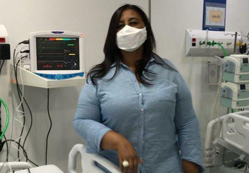 Vereadora Leide participa da inauguração de CTI pediátrico em Duque de Caxias