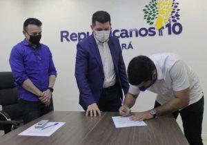 Republicanos recebe filiação do deputado estadual André Fernandes no Ceará
